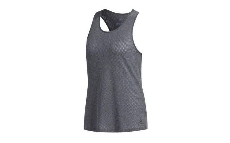 Adidas Camiseta Response Light Speed Gris Mujer Cf1033
