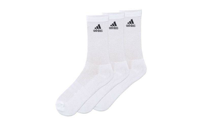 Adidas Pack 3 Pares Calcetines Performance Hc3p Blanco