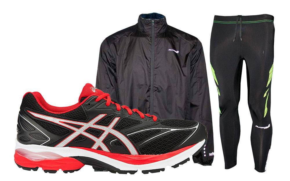 Asics Pack Pulse 8 Negro Completo