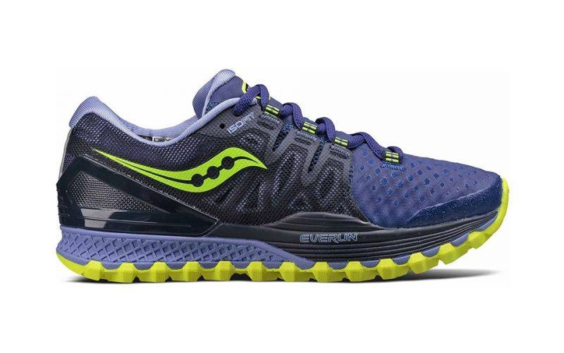Saucony Xodus Iso 2 Mujer Gris Citron S10387-3