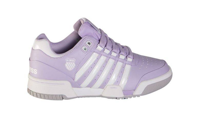 Kswiss Gstaad Q2 Lila Gris Blanco Mujer 91734597