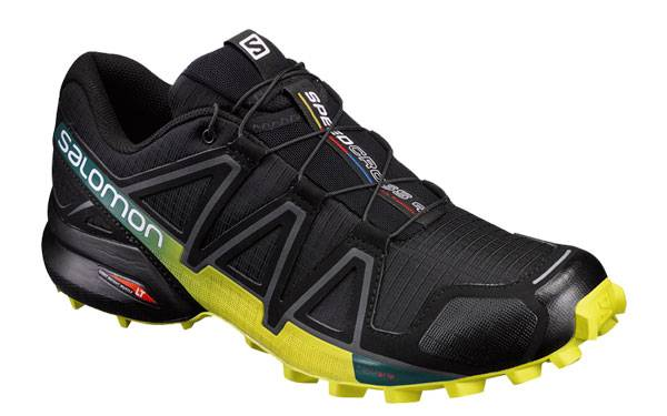 Salomon Speedcross 4 Negro Fluor 392398