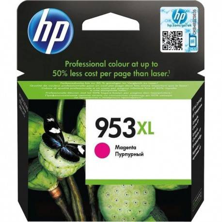 HP 953XL Magenta Original Ink Cartridge 20.5ml 1600páginas Magenta cartucho de tinta - 20469710 F6U17AE#BGX