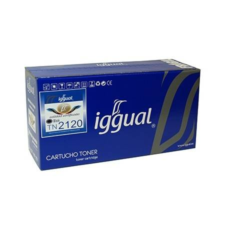 Iggual Tóner Reciclado Brother TN-2120 Negro PSITN2120