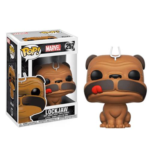 Pop! Vinyl Figura Pop! Vinyl Lockjaw - Inhumans