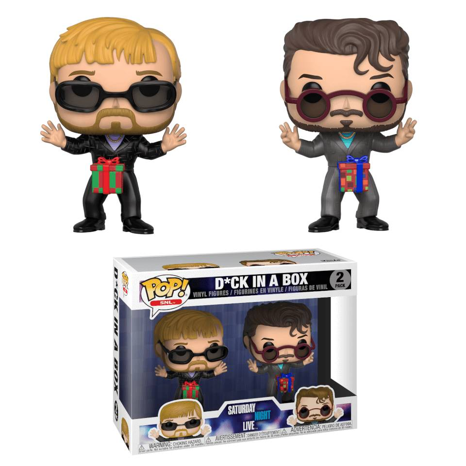 Pop! Vinyl Pack 2 Figuras Pop! Vinyl D*ck in a Box - Saturday Night Live