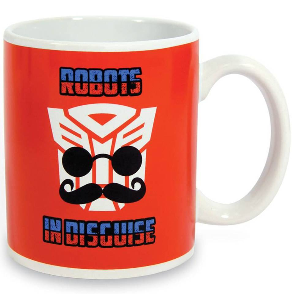 Taza Termosensible Transformers  Robots In Disguise