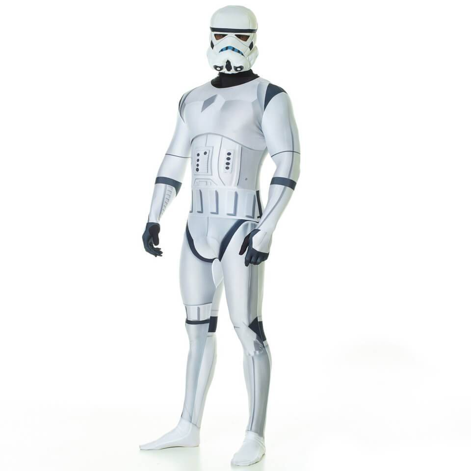 Morphsuits Morphsuit Adults' Deluxe Star Wars Stormtrooper - L - Blanco
