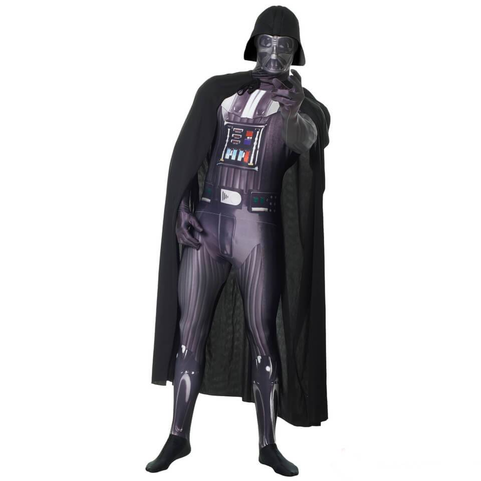 Morphsuits Morphsuit Deluxe Star Wars  Darth Vader  Zappar - Adulto - M - Negro