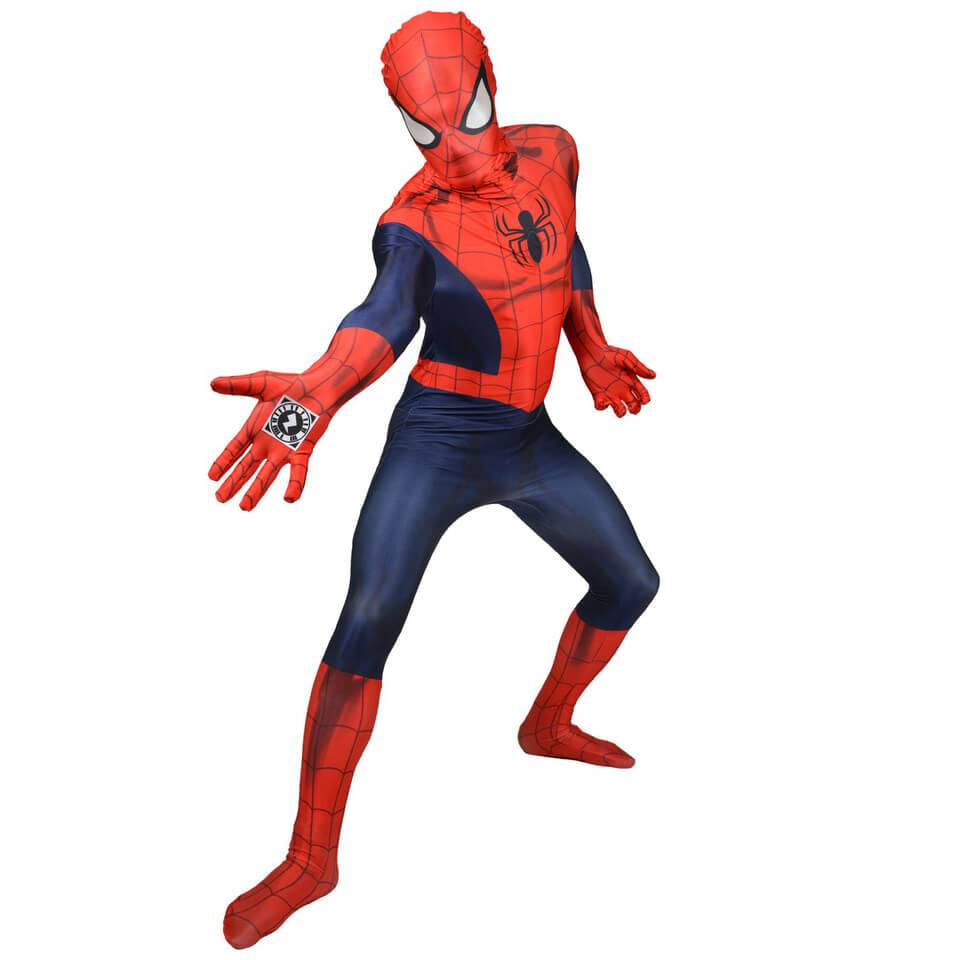 Morphsuits Morphsuit Deluxe Marvel  Spider-Man  Zappar - Adulto - XL - Rojo