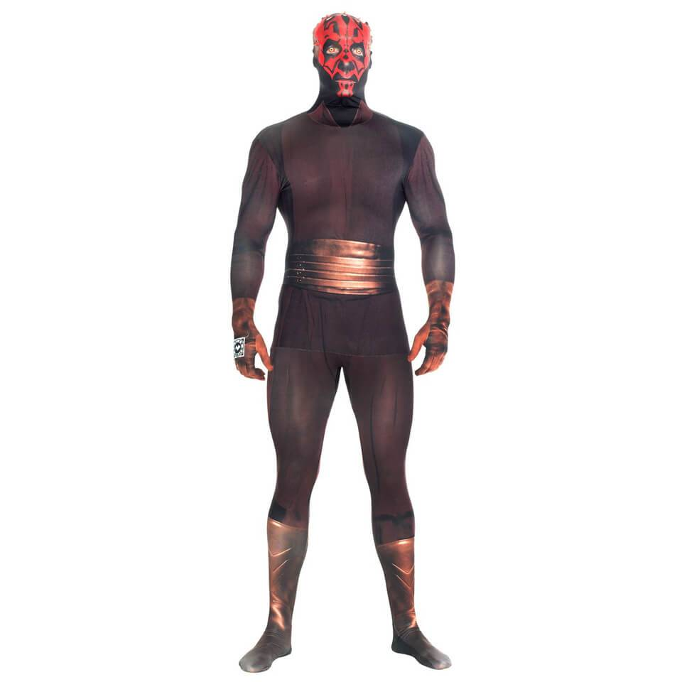 Morphsuits Morphsuit Deluxe Star Wars  Darth Maul  Zappar - Adulto - M - Negro