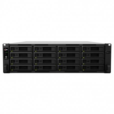 Synology - RS4017xs+ NAS Bastidor (3U) Ethernet Negro, Gris