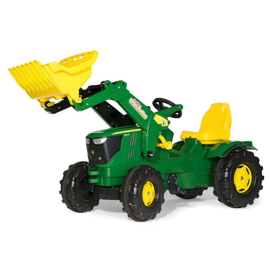 Rolly Toys Tractor John Deere 6210 R con pala 611096