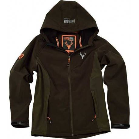 Workteam Chaqueta Impermeable Workshell Para Caza Y Pesca