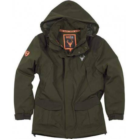 Workteam Parka Impermeable Para Caza Y Pesca