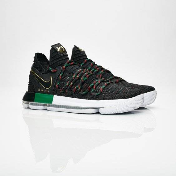Nike zoom kd10 bhm Black/Multi color