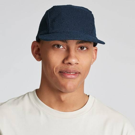 Reigning Champ Towel Terry 5-panel Hat Navy