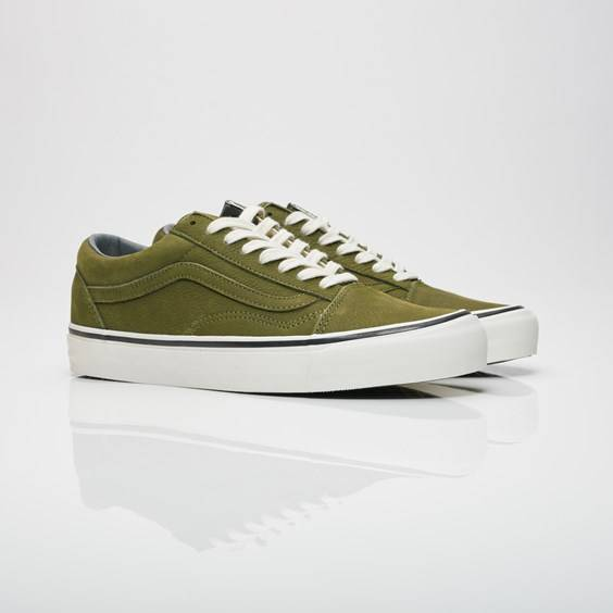 Vans og old skool lx (Nubuck) Winter Moss