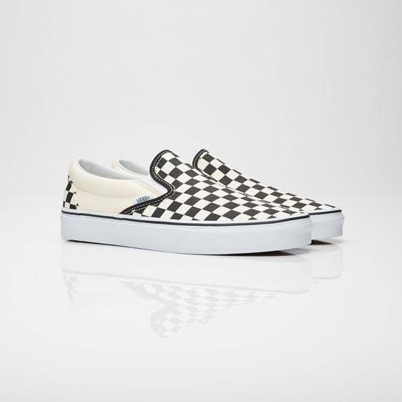Vans Ua Classic Slip-on Black/White Check