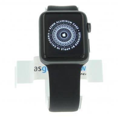 Apple Watch Series 2 aluminiogehäuse gris oscuro 42mm con con correa deportiva