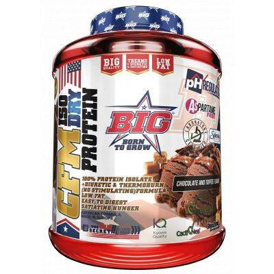 Big Cfm Iso Dry Protein Isolate 1,8 Kg Chocolate Caramelo - Proteinas