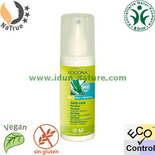 Logona Desodorante spray Bio Aloe + Verbena LOGONA Daily Care
