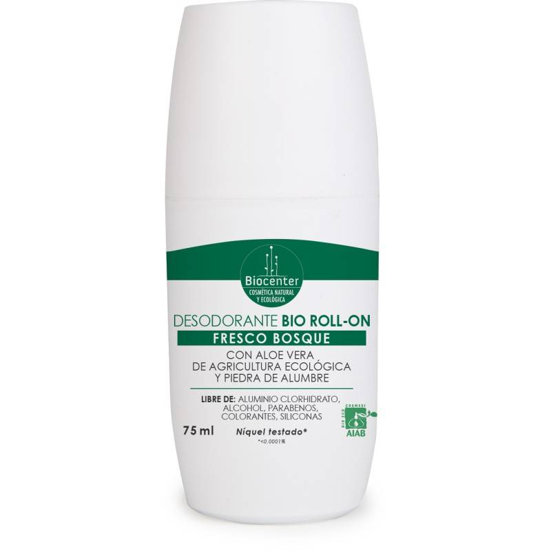Biocenter Desodorante Bio Roll-on Fresco Bosque