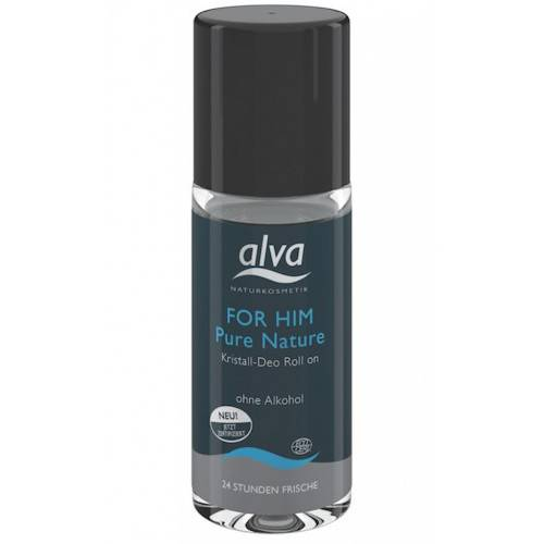 Alva Desodorante roll-on para hombre For Him Pure Nature