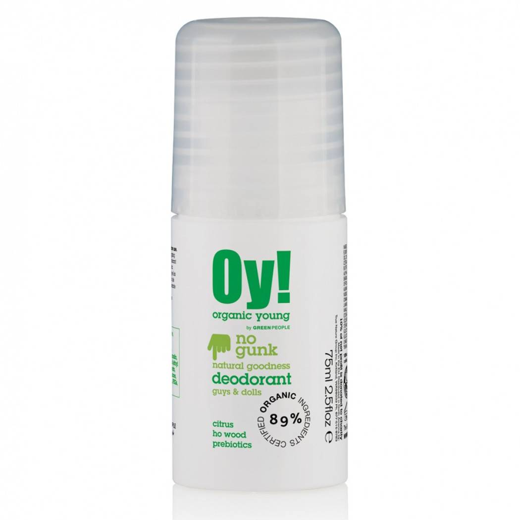 Green People Desodorante roll-on unisex Organic Young!