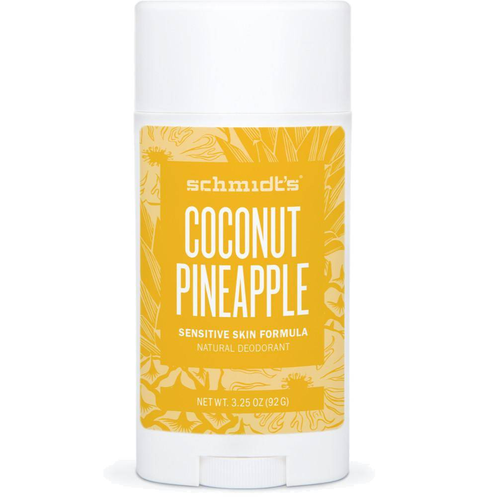 Schmidt's Desodorante natural piel sensible Coconut + Pineapple (92g.)