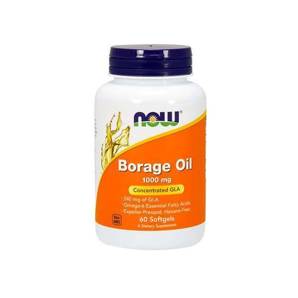 Now Foods Borage oil 1000mg - 60 softgels