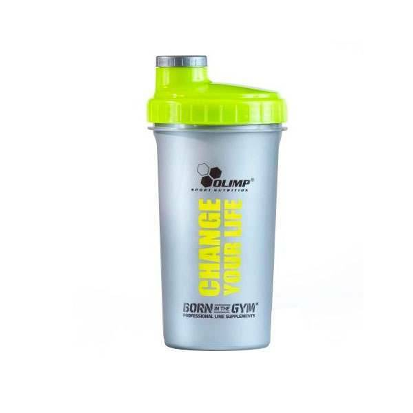 Olimp Shaker change your life 700ml gris