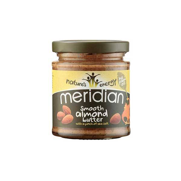 Meridian Natural almond butter with sea salt 170g