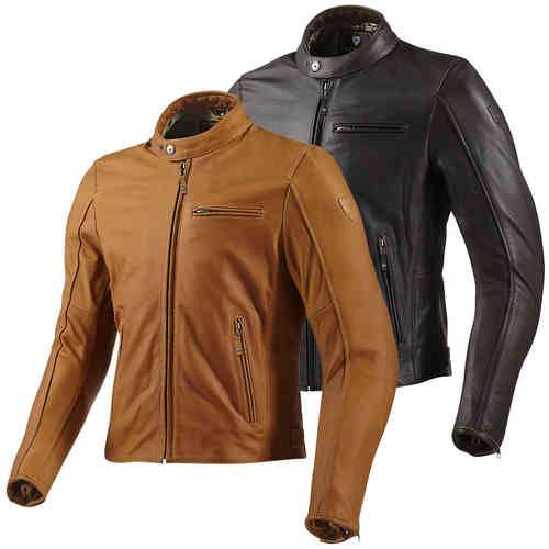Revit Flatbush Chaqueta motos cuero