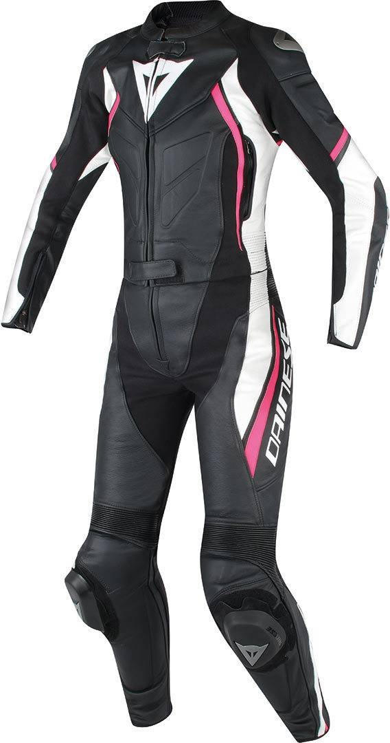 Dainese Avro D2 2 PC Lady Negro/Fucsia 46