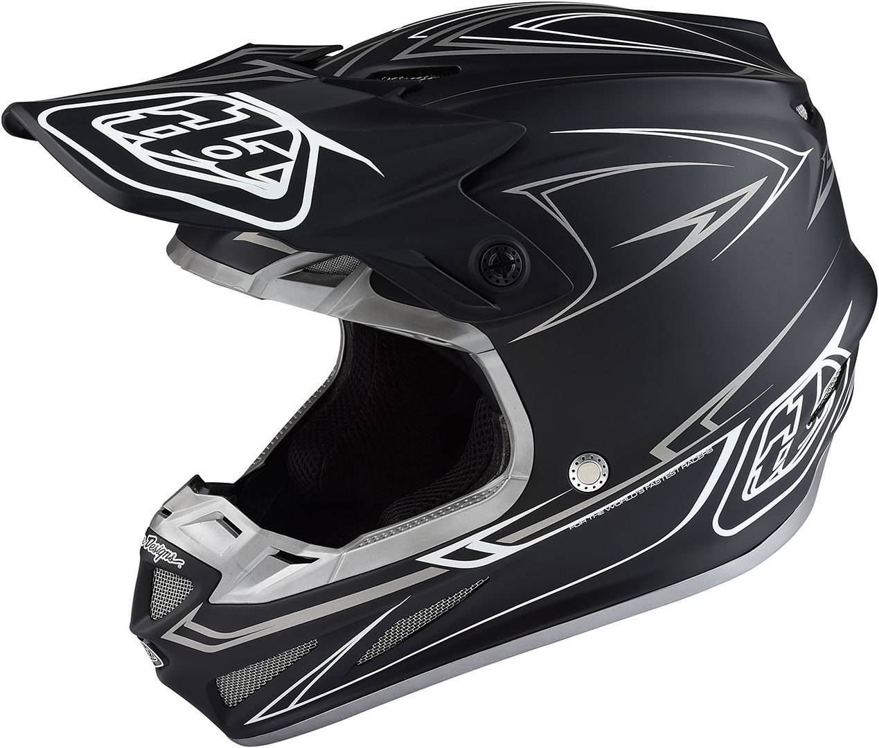 0887202172175 Troy Lee Designs SE4 MIPS Factory Negro/Blanco S (56/57)