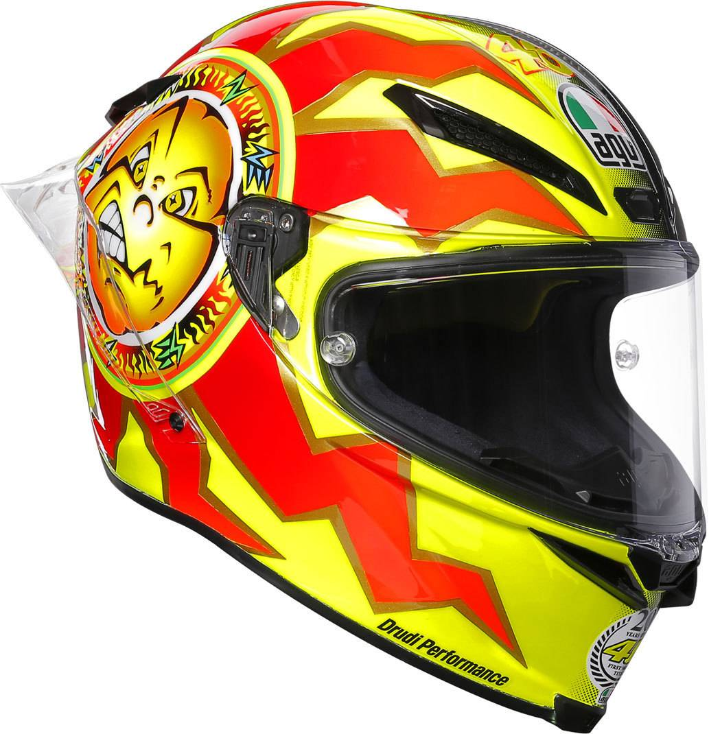 AGV Pista GP R Rossi 20 Years Carbon Limited Edition Casco Color XS (53/54)