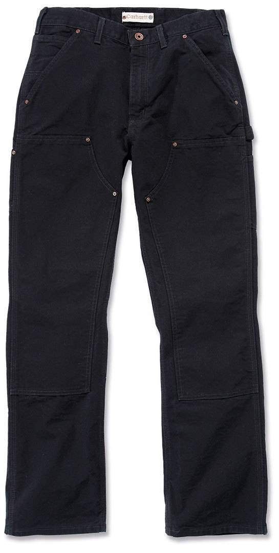 Carhartt Washed Duck Double-Front Work Dungaree Pantalones Negro 28