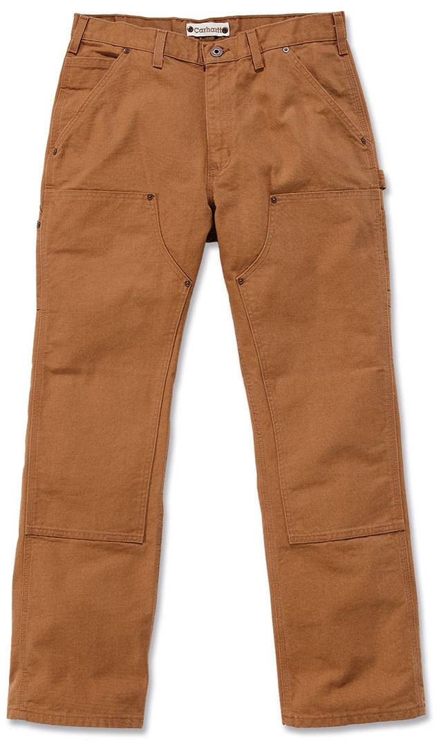 Carhartt Washed Duck Double-Front Work Dungaree Pantalones Marrón 40