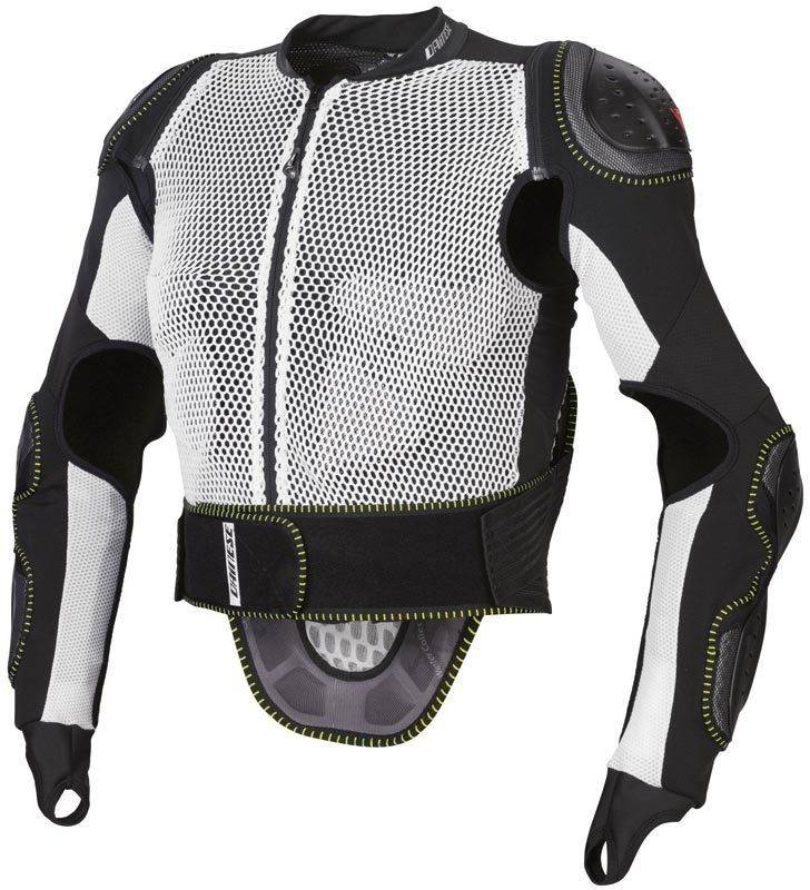 Dainese Action Full Pro Chaleco protector Blanco/Negro XL
