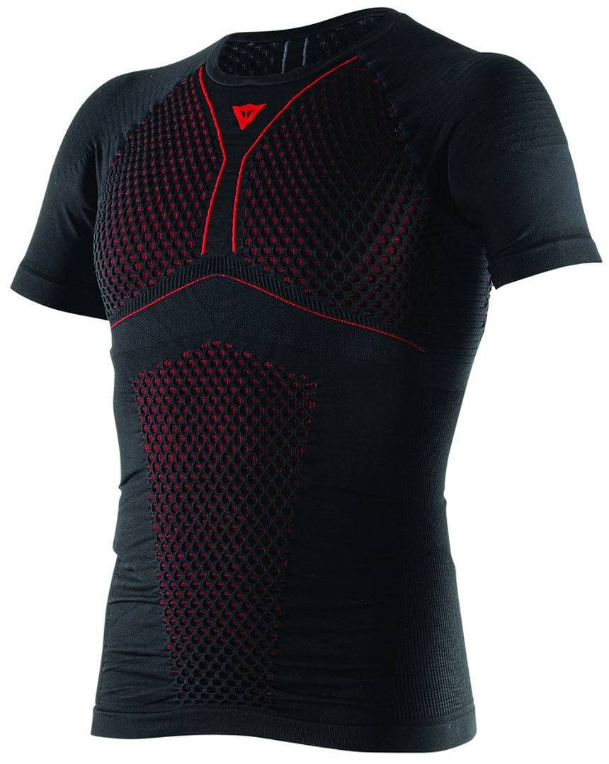 Dainese D-Core Thermo Tee SS Negro/Rojo M
