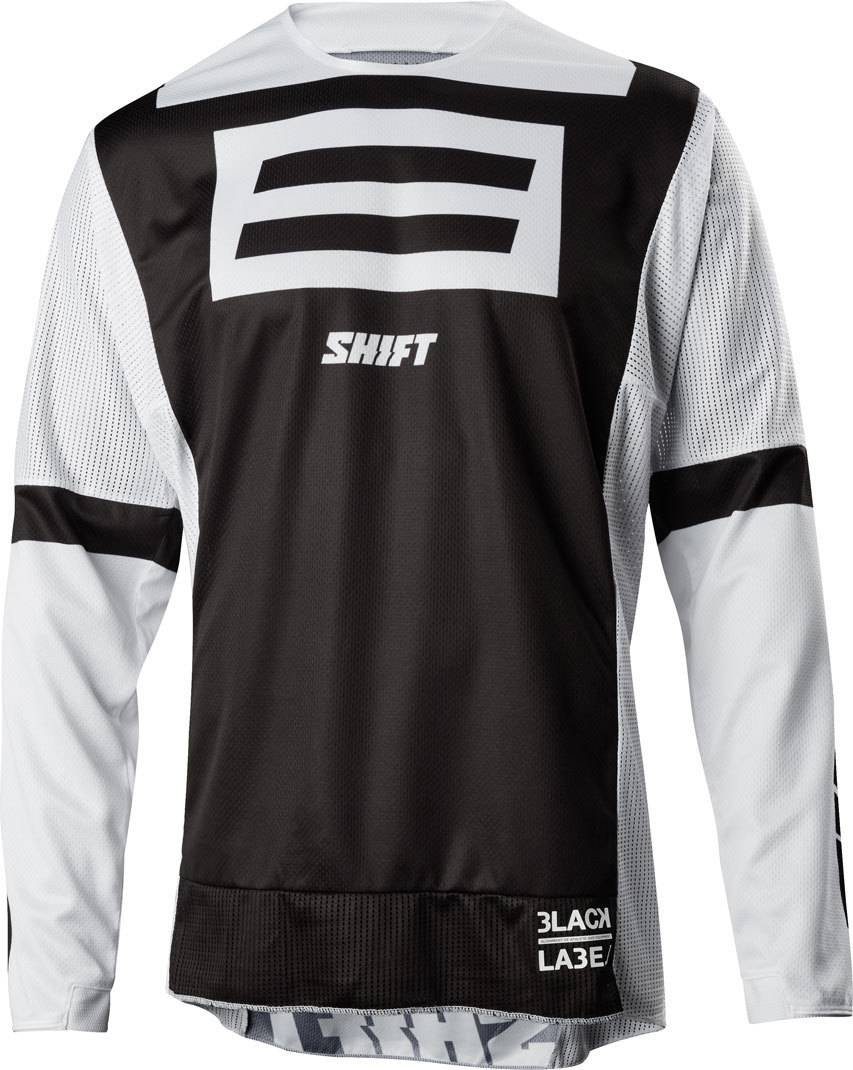 Shift 3LACK G.I. FRO 20th Anniversary Jersey Negro/Blanco XL