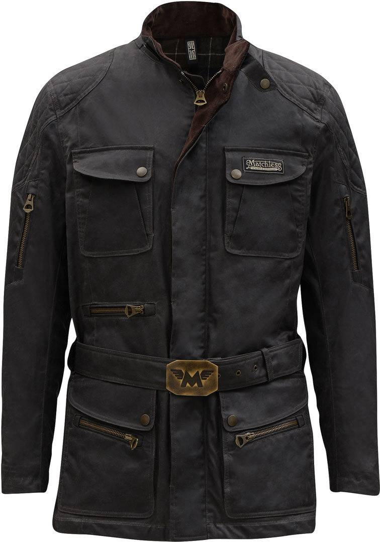Matchless Streetfarer Evolution Trench Chaqueta Gris M