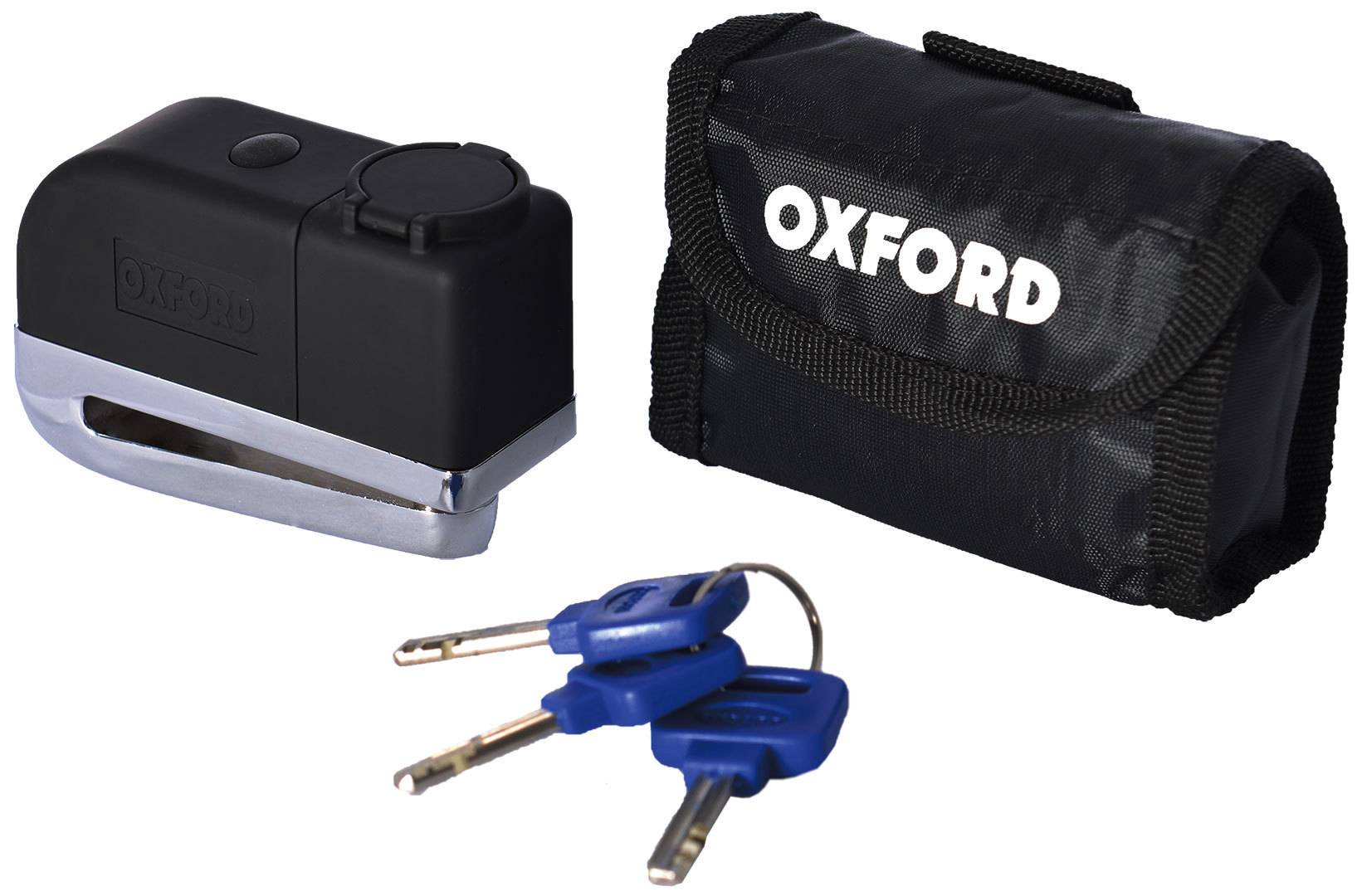 Oxford Screamer Disc Alarm Lock Negro