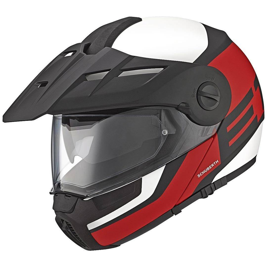 Schuberth E1 Guardian Adventure Casco Rojo S (54/55)