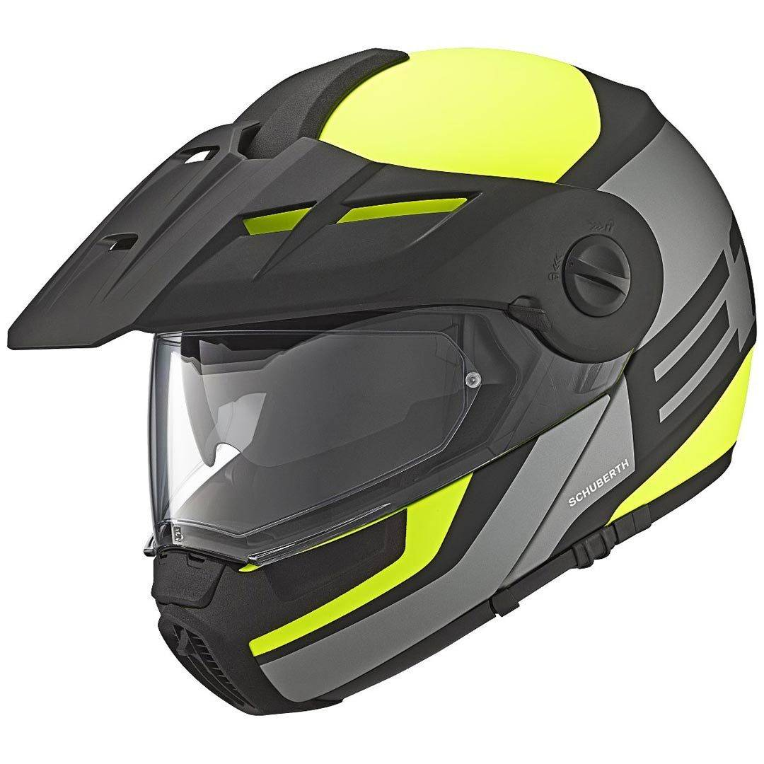 Schuberth E1 Guardian Adventure Casco Amarillo XS (52/53)