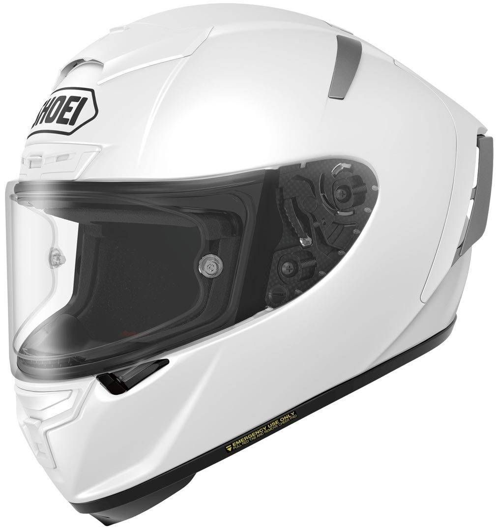 Shoei X-Spirit III Casco de moto Blanco XL (61/62)