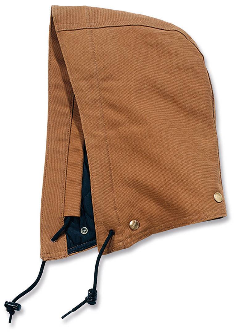 Carhartt Duck Polyester Quilted Hood Marrón Claro S