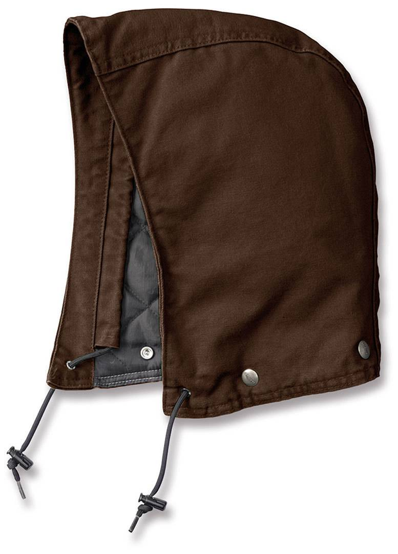 Carhartt Sandstone Polyester Quilted Marrón Oscuro S