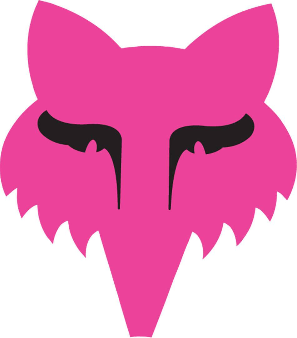 Fox Legacy Head Sticker 3,5 Zoll Rosa